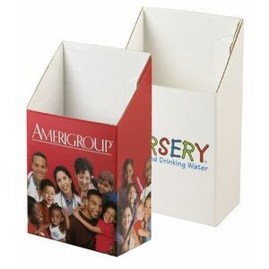 "Brochure Holder Point-of-Purchase Box (4""x 2-1/2""x 7-1/2"")"